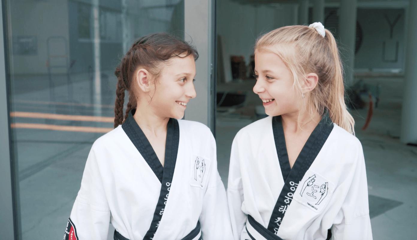 YOUNG-UNG Taekwondo Kampfsport BIG YU Fitness Kinder Wagramer stresse Wien