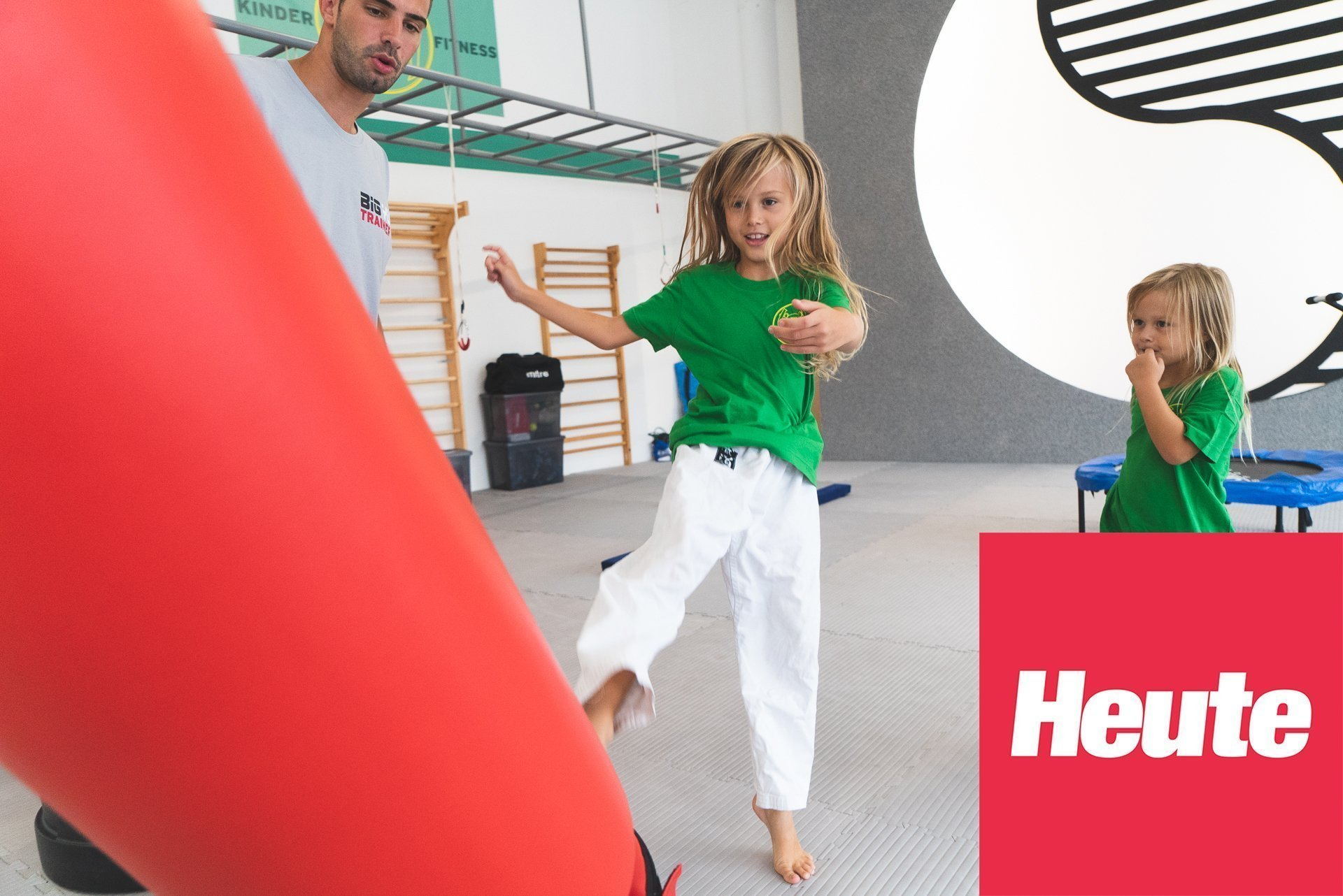 YOUNG-UNG Taekwondo BIG YU Kinderfitness Wagramer Straße