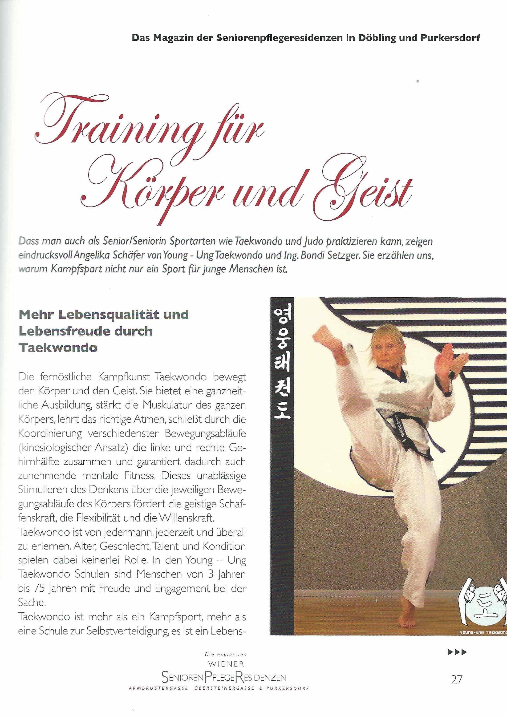 """Bild zu Artikel """"Training für Körper und Geist"""""""