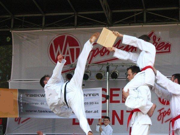 Bild zu Donauinselfest mit Teakwondo
