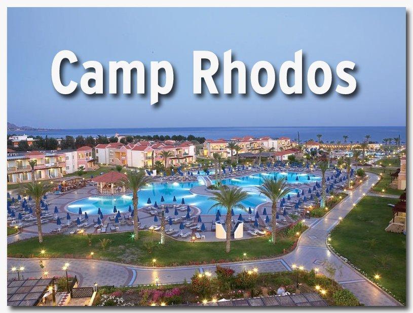 Taekwondo-Großcamp in Rhodos
