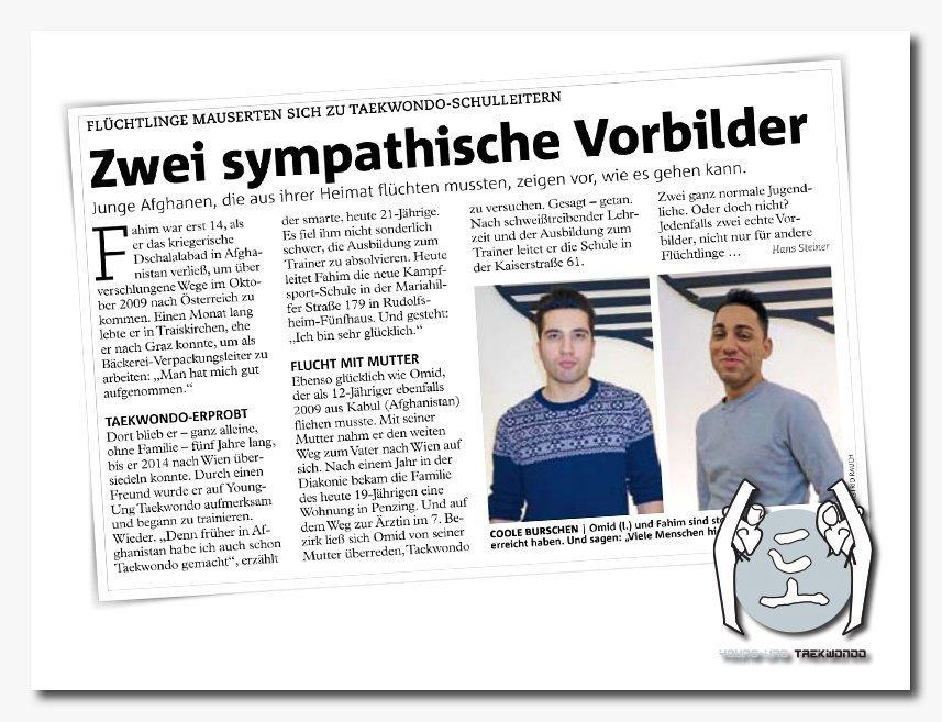 Wiener Bezirksblatt Interview