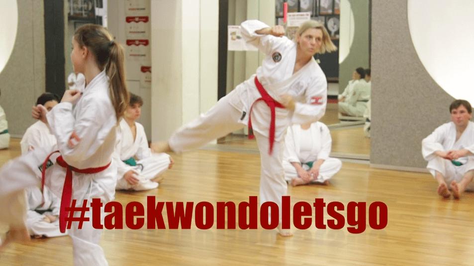 Bild zu #taekwondoletsgo aus der Reichsratsstrasse