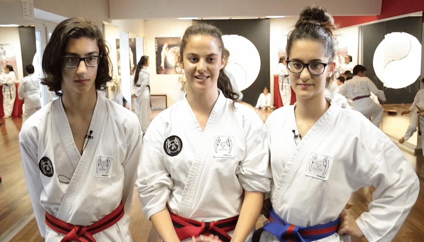 Kurzclip 1 #taekwondoletsgo als Instagram-Clip