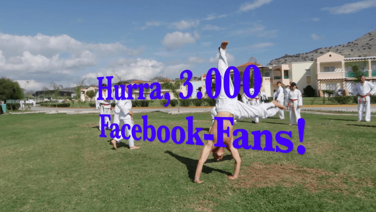 Bild zu 3.000 Facebook-Fans