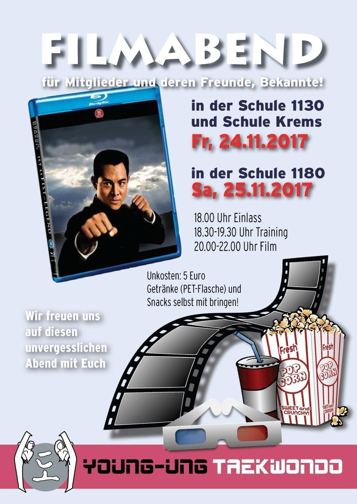 Training, Film & Popcorn!