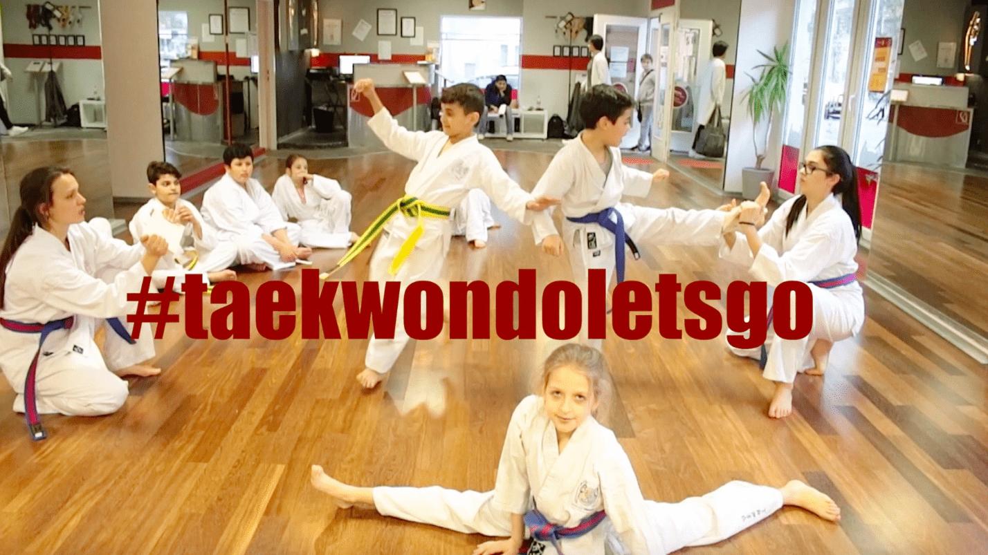 Bild zu #taekwondoletsgo weiterer Kurzclip