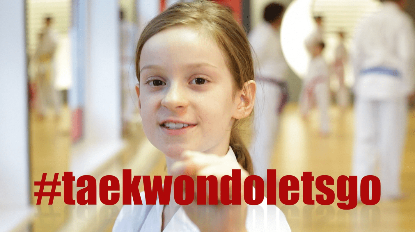 YOUNG-UNG Taekwondo Imagekampagne #taekwondoletsgo