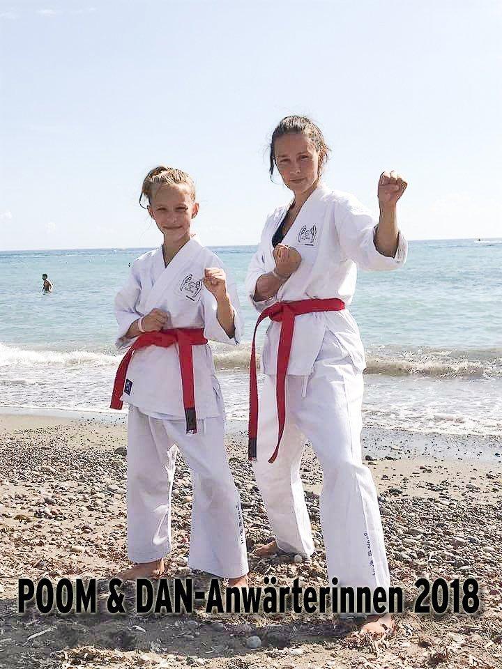 Bild zu POOM & DAN-Anwärterinnen Maria und Ania