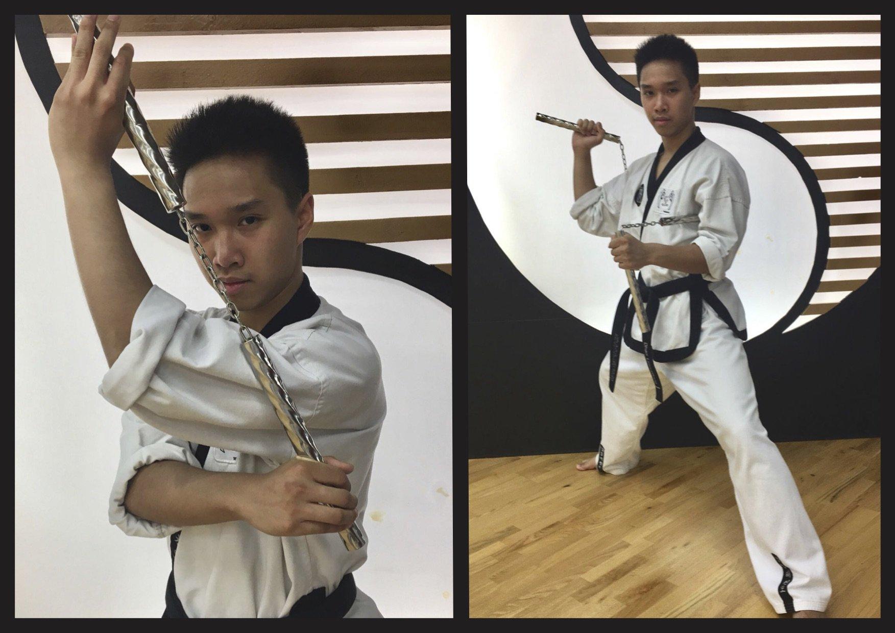 Bild zu Nunchaku-Workshop mit Meister Dhan