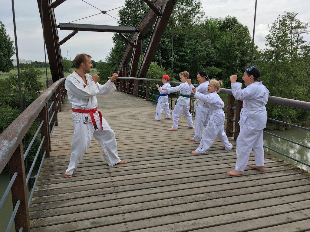 Bild zu Taekwondo pur in der Natur