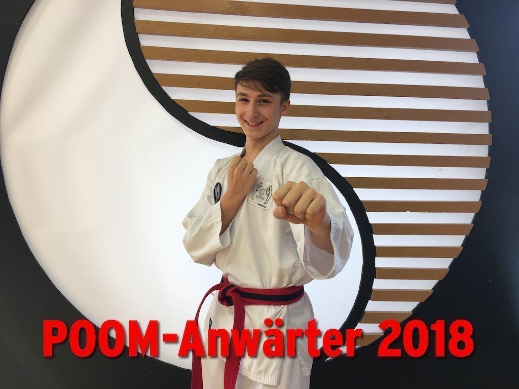 YOUNG-UNG Taekwondo POOM Anwärter Edi Nuc Kampfsport Bulgarien Camp