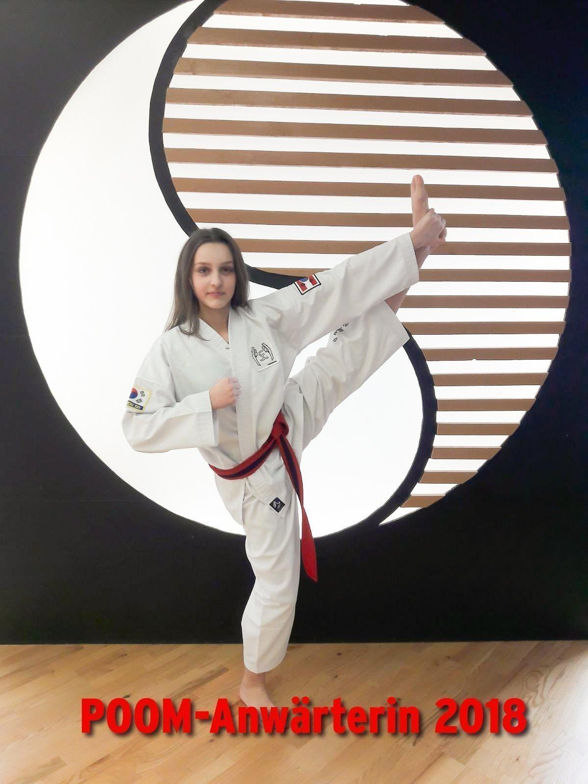 YOUNG-UNG Taekwondo Bulgarien Camp Sanja Despotovic Poom