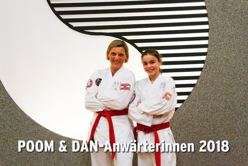 Bild zu POOM & DAN-Anwärterinnen Daria und Laura