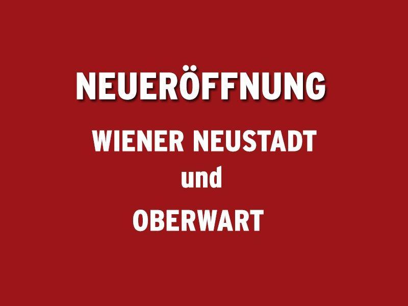 Neueröffnung der Gruppen Oberwart und Wiener Neustadt