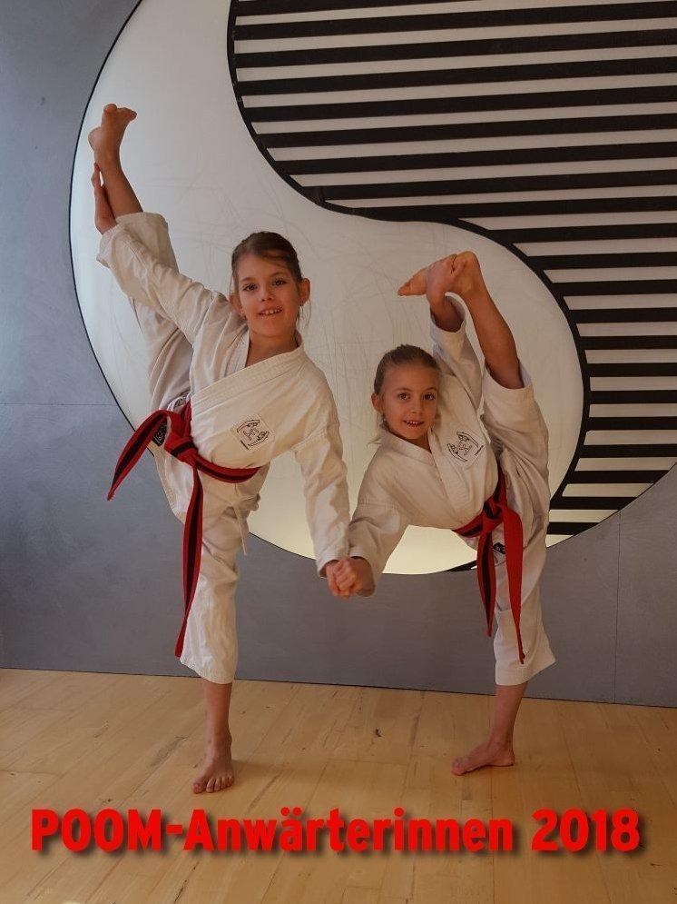 Bild zu POOM-Anwärterinnen Sarah und Alia