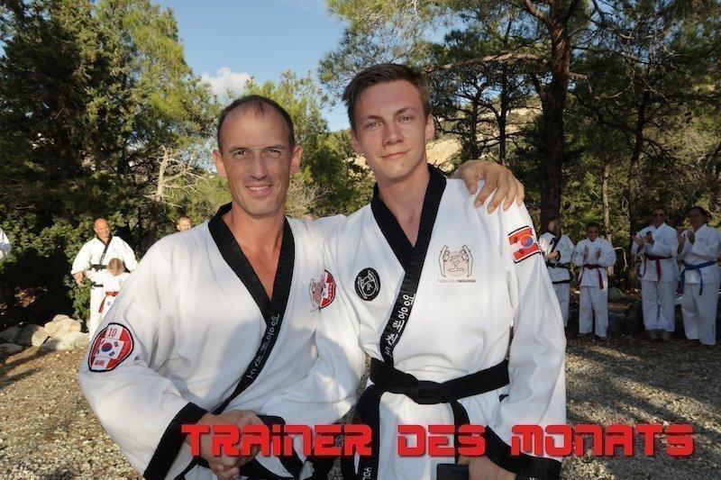 Trainer des Monats YOUNG-UNG Taekwondo Lukas Kozak