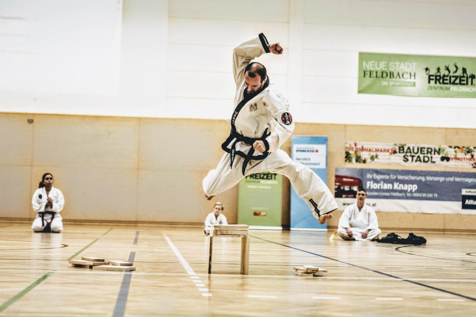 YOUNG-UNG Taekwondo Mein Bezirk Südsteiermark LBS Feldbach