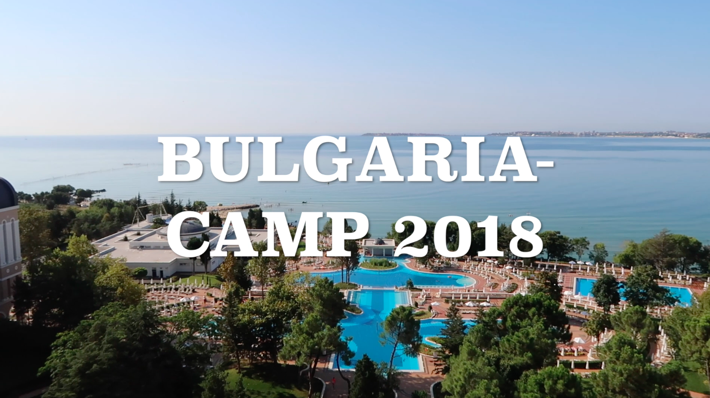 Bulgarien-Camp auf Video