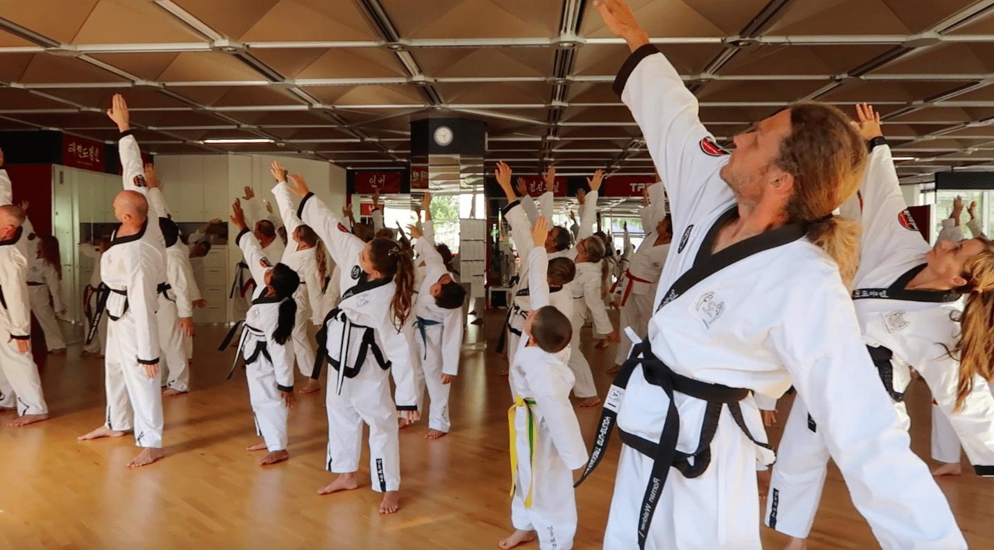 YOUNG-UNG Taekwondo Kimoodo Kampfsport