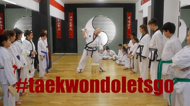 #taekwondoletsgo Kurzclip aus 1100