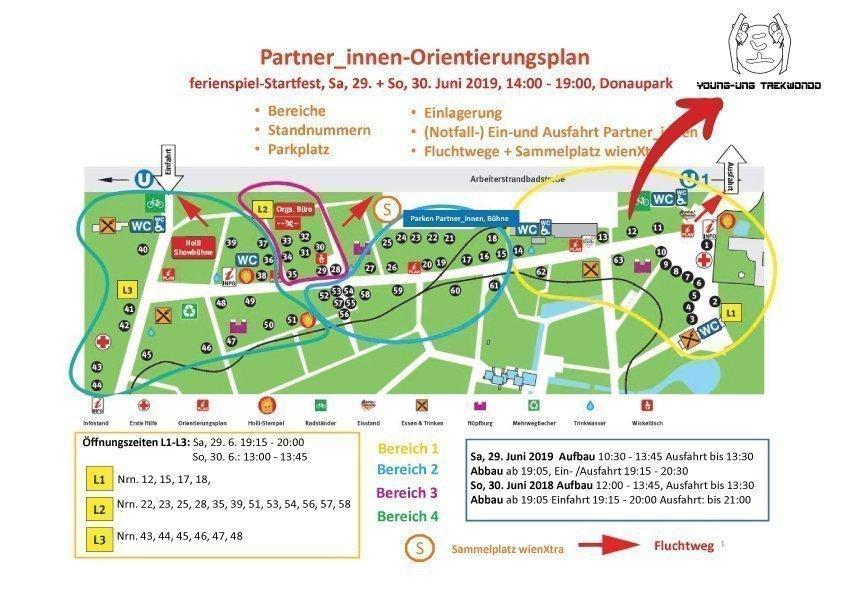 YOUNG-UNG Taekwondo WienXtra Ferienspielstartfest