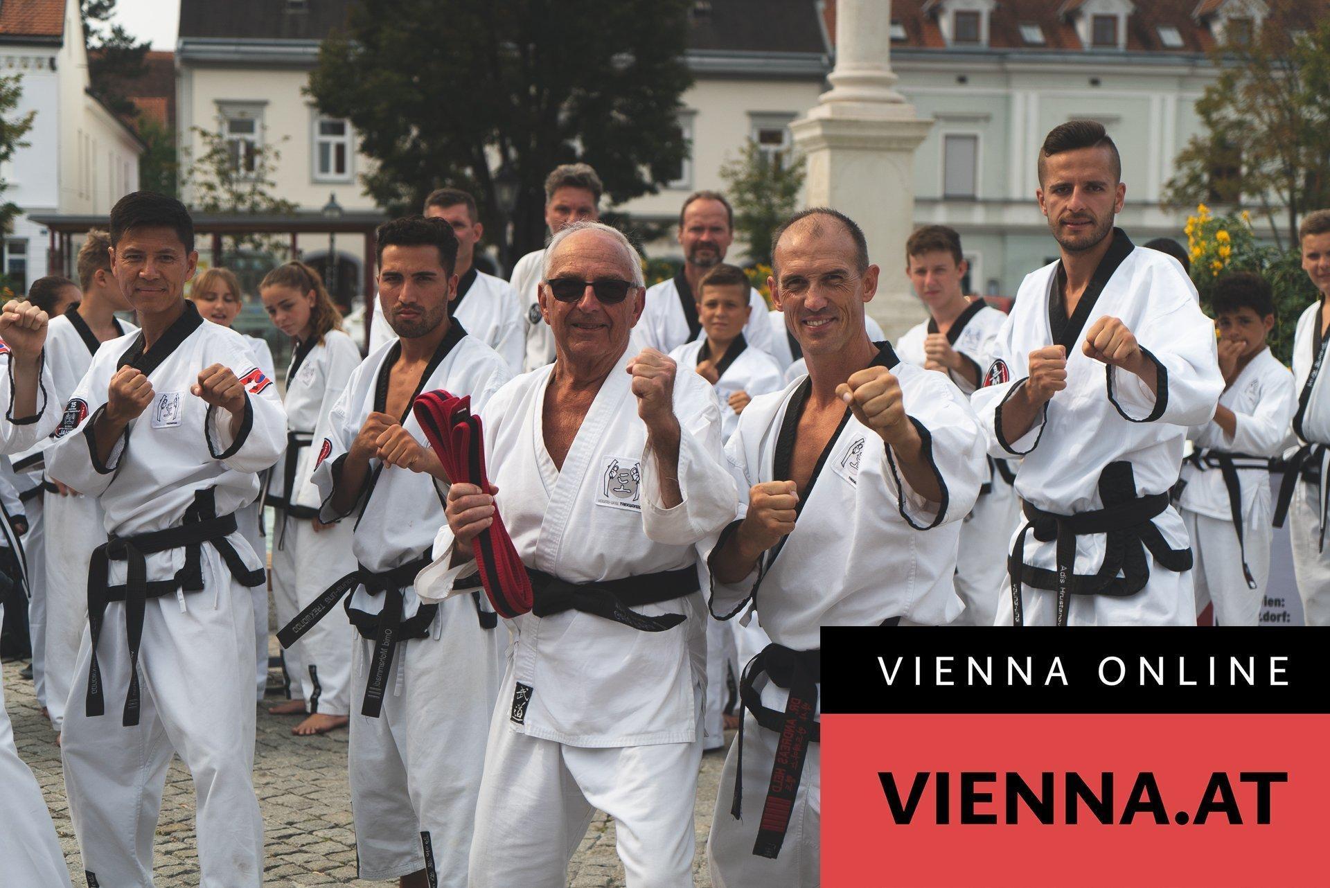 Ältester Schwarzgurt auf VIENNA.AT