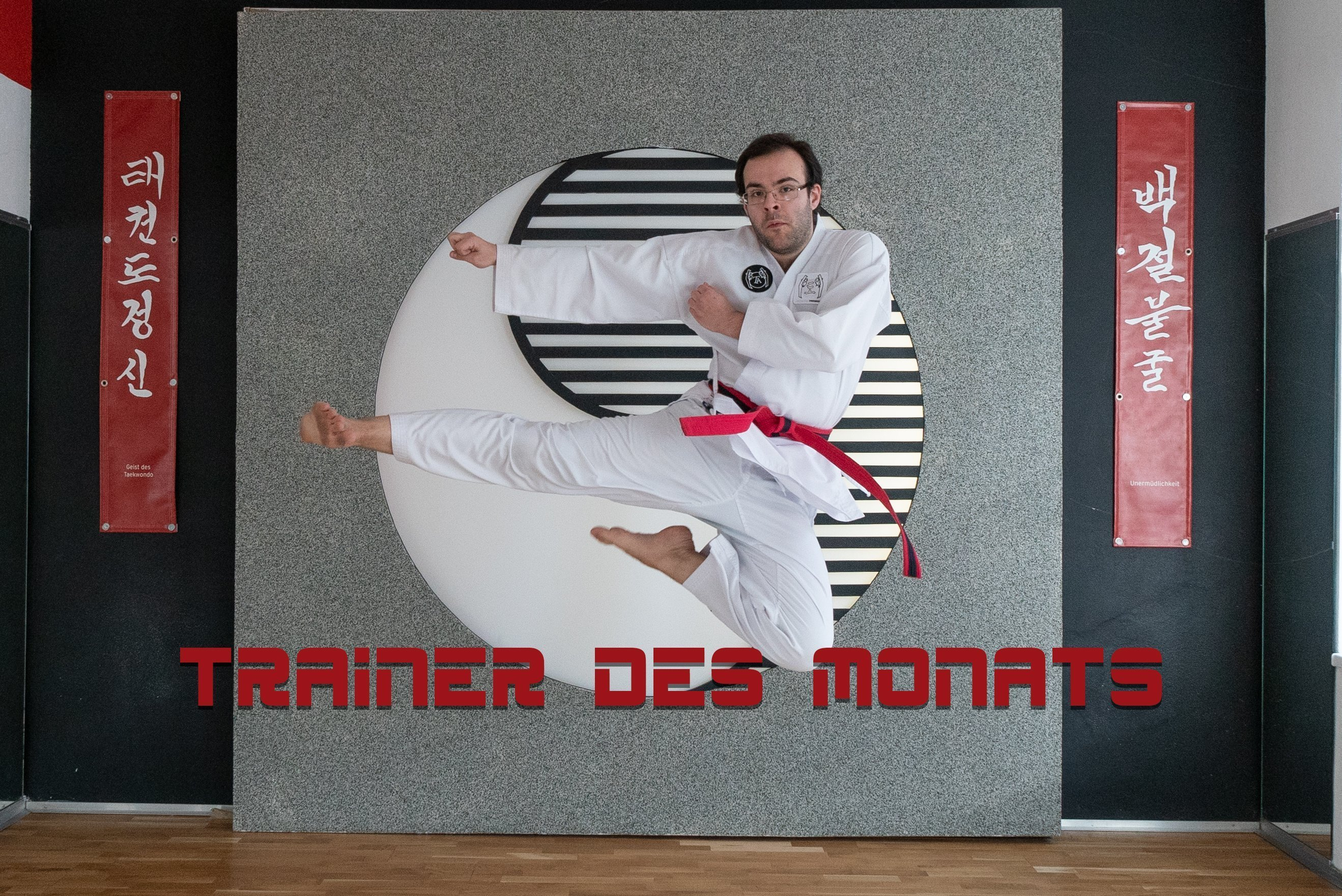 YOUNG-UNG Taekwondo Trainer des Monats Paul Radl