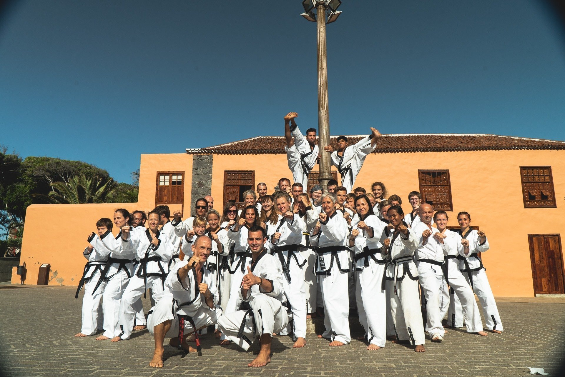 YOUNG-UNG Taekwondo Teneriffa Camp Training