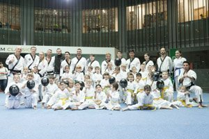YOUNG-UNG Taekwondo Winter-Turnier Gasometer