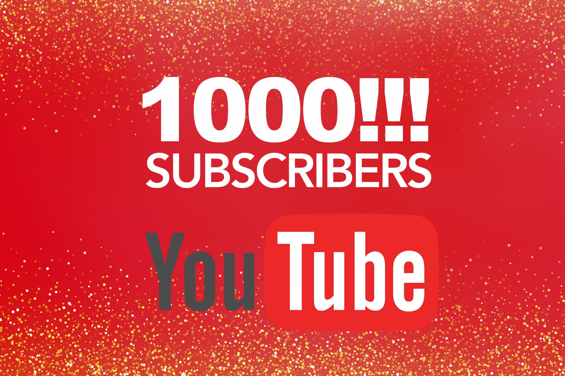 Bild zu Hurra, 1.000 YouTube-Abonnenten!