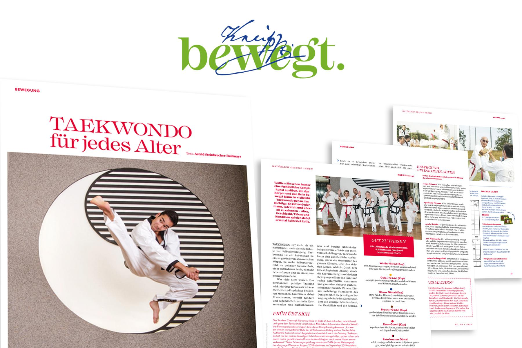 YOUNG-UNG im Kneipp Magazin