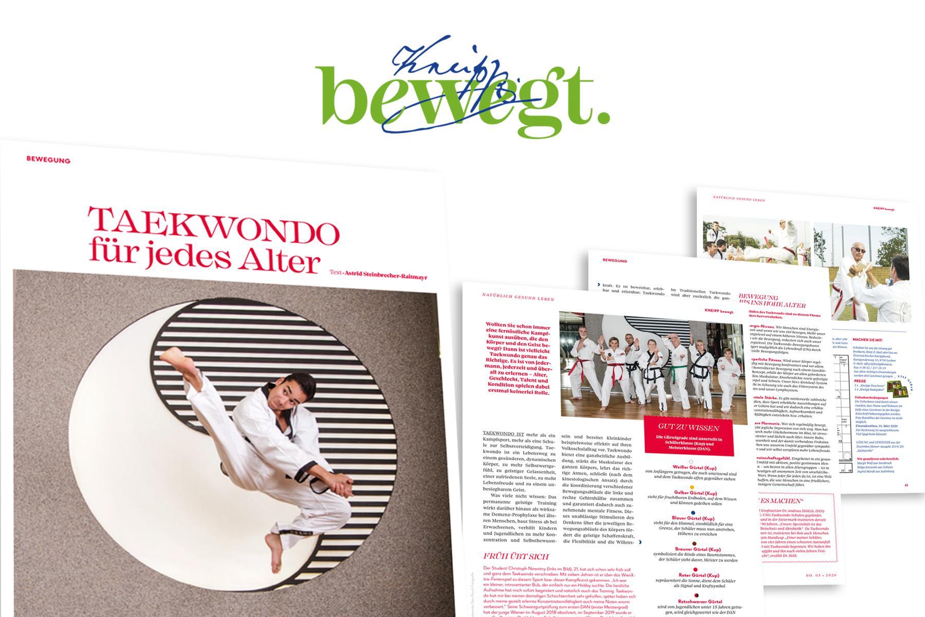Taekwondo Bericht Kneipp Magazin