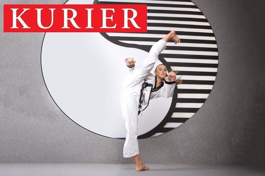 YOUNG-UNG Taekwondo Klosterneuburg Eröffnung Kurier Celine Held
