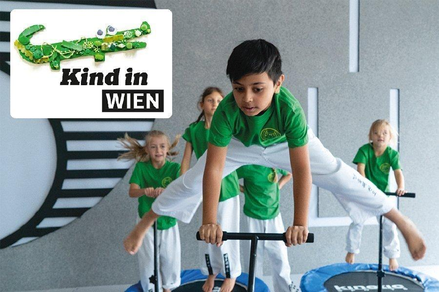 YOUNG-UNG Taekwondo Kind in Wien Falter Interview Dr. Andreas Held Kinderfitness