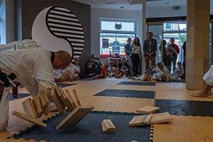 YOUNG-UNG Taekwondo Klosterneuburg Weidlingerstrasse Eröffnung Stadtrat Christoph Kaufmann