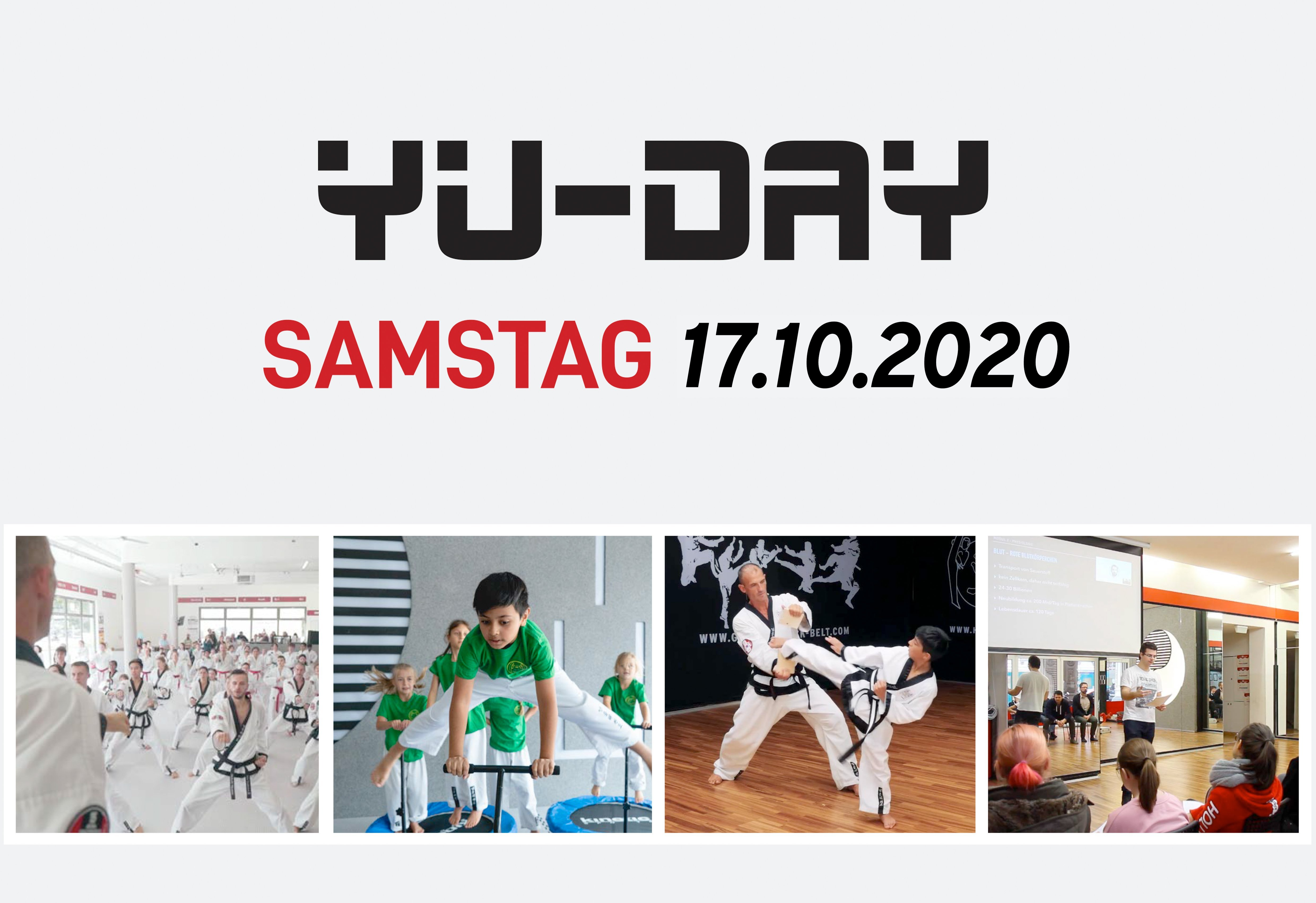 YOUNG-UNG Taekwondo YU Day Franchise Show Training Schnuppern