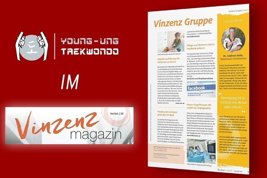 YOUNG-UNG Taekwondo Vinzenz Magazin Dr. Andreas Held